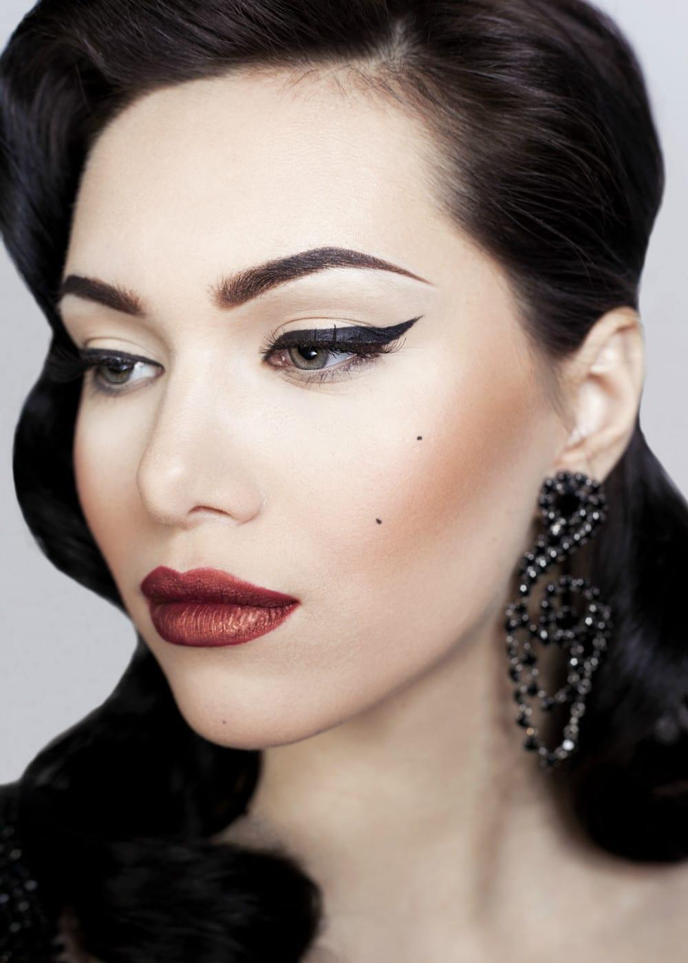 Макияж Дарья Богатова, модель Настя Какура, фото, Tima Blur