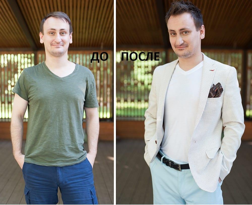 Фото Надежды Головочевской. Участник Преображения. Одежда предоставлена Men`s Club