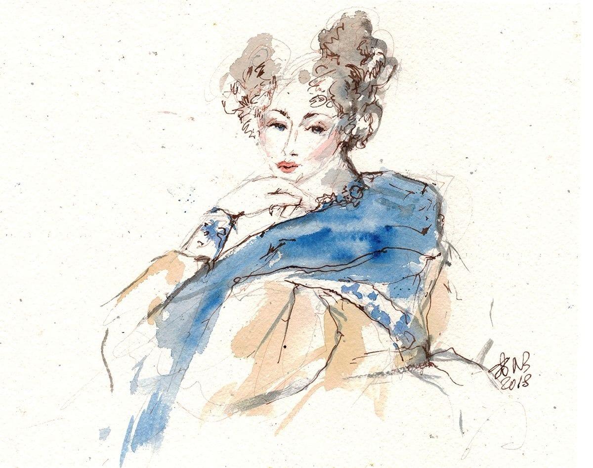 Иллюстратор Наиля Бутусова, @butusova_portfolio